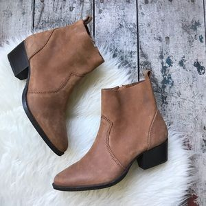 SPLENDID weather leather suede boots 6  new